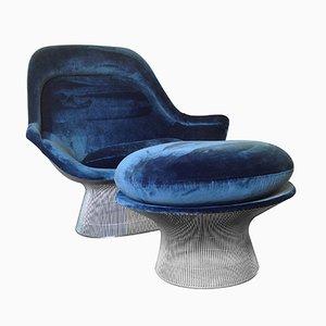 Vintage Sessel & Ottomane von Warren Platner für Knoll International