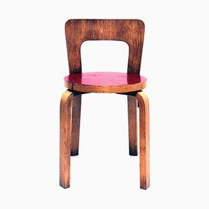 Vintage Model 65 Chair by Alvar Aalto for Artek