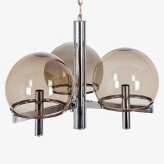 Space-Age Chandelier by Gaetano Sciolari