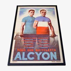 Vintage Radsport Poster von Alcyon