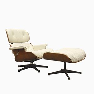 Lounge Chair & Ottoman by Ray & Charles Eames for Herman Miller, 1970s