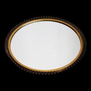 Corona Mirror in Brass by Josef Frank