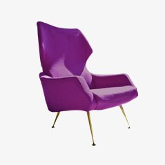 Wingback Chair by Rudolf Glatzel for Alfred Kill