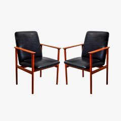 Diplomat Armchairs by Arne Vodder for Sibast, 1960s, Set of 2