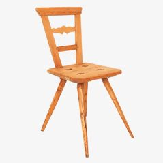 Antique German Dining Chair, 1850s