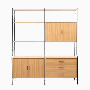 Mid-Century Freestanding Shelving Unit from WHB, 1960s