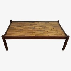 Large Brazilian Coffee Table by Percival Lafer, 1960s