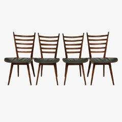 Chaises de Salon par Cees Braakman par Pastoe, Set de 4