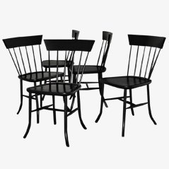 Settler Dining Chairs by Tomas Sandell for All In Wood, Set of 6