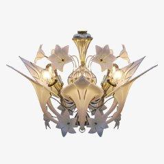 Lustre Canna Lily de Murano, Italie