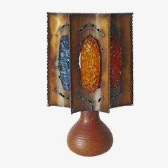 French Table Lamp from Accolay, 1970s