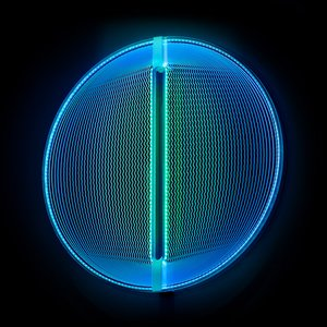 Thanks for the Planets Light Sculpture / Blue Green by Arnout Meijer Studio