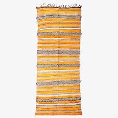 Ziegenhaar Kelim Berberteppich, 1950er
