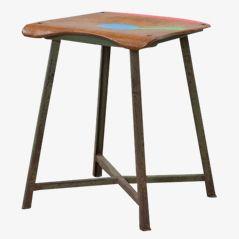 Multicolored Drei Farben ohne Trallala Stool by Markus Friedrich Staab