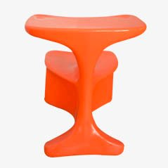 Zocker Sessel von Luigi Colani für Top System Burkhard Lübke in Gelb, 1970er