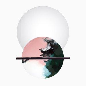 Overlap-Mirror No. 08 with Shelf by Elisa Strozyk