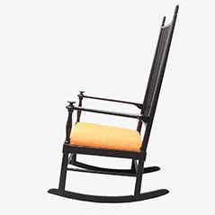 Swedish Rocking Chair from Gemla, 1950s