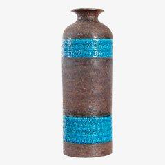 Dänische Vase aus Keramik von Aldo Londi für Bitossi Ceramiche