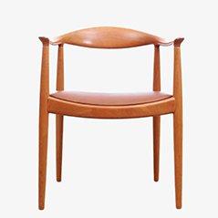 Scandinavian The Chair Armchair by Hans J. Wegner for Johannes Hansen