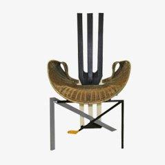 Vintage Documenta Stuhl von Paolo Deganello für Vitra
