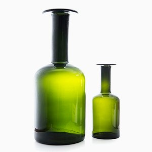 Vases by Otto Brauer for Holmegaard, Set of 2