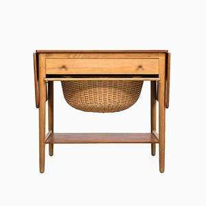 Table de Couture AT-33 par Hans J. Wegner pour Andreas Tuck, 1950s