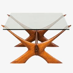 Condor Coffee Table by Fredrik Schriever-Abeln for Örebro Glas, Sweden, 1960s