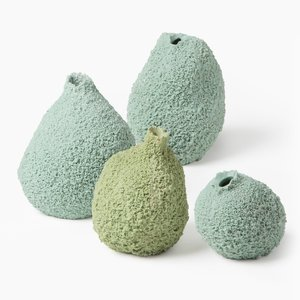 Vases Else en Mousse par Michal Fargo, Set de 4