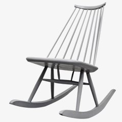 Mademoiselle Rocking Chair by Tapiovaara for Asko, 1956