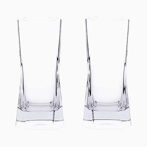 Cibi Highball Glasses by Cini Boeri for Arnolfo Di Cambio, 1973, Set of 2