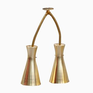 Double Arm Wall Sconce by J.T. Kalmar, 1950s