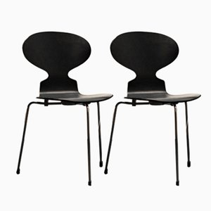 Ant Chairs by Arne Jacobsen for Fritz Hansen, 1974, Set of 2