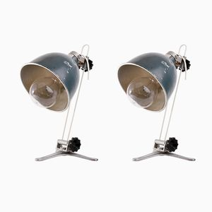 Industrial Lamps, 1970s, Set of 2