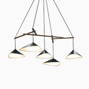 Emily Group of Five Semi Matte Suspension par Daniel Becker