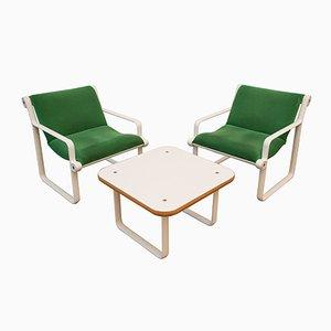 Vintage Sitzgruppe von Hannah & Morrison für Knoll