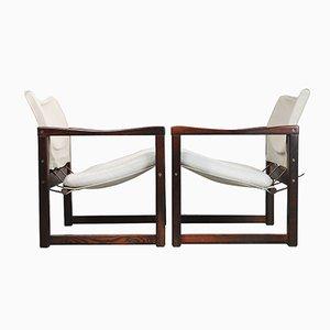 Skandinavische Diana Safari Sessel von Karin Mobring für Ikea, 1972, 2er Set