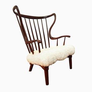 Mid-Century Peter Hvidt Rocking Chair, 1948