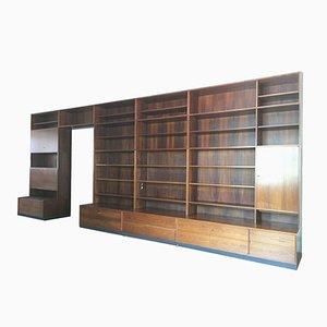 Mid-Century Palisander Bücherregal mit 4 Fächern