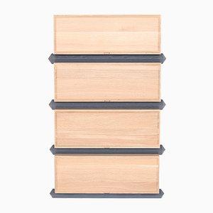Stack Storage Four-Tier Wood Drawers from Debra Folz Design
