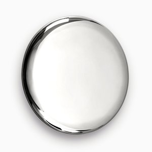 Beauty Mirror in Silver by Michael Anastassiades