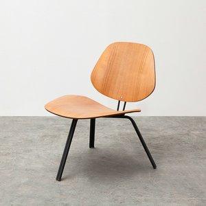 Low P31 Chair in Teak by Osvaldo Borsani for Tecno
