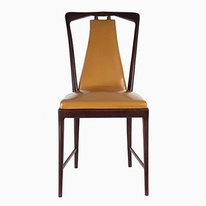 Dining Chairs by Osvaldo Borsani for Atelier Borsani Varedo, 1940s, Set of 6