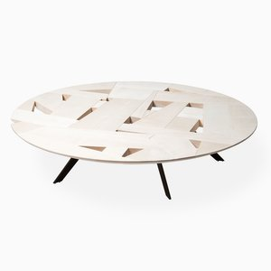 Tamiso T1423 Round Low Table by Marco Zanuso Jr.