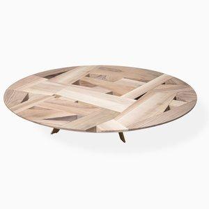 Table Basse Tamiso Round Low Table, Modèle T1413, Ronde par Marco Zanuso Jr.