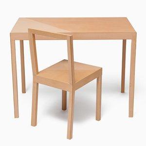Prototypes Table et Chaise Forever par Lina Patsiou, 2013