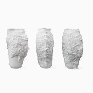 Vases Hacking the Mould Vases par Noam Dover & Michal Cederbaum, Set de 9