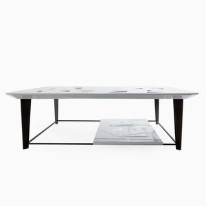 Tamiso T1406 Square Low Table by Marco Zanuso Jr.