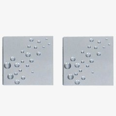 Wall Appliques by Evert Jelle Jelles for RAAK Amsterdam, 1964, Set of 2