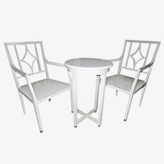 Chairs and Side Table Set by Josef Hoffmann, 1910