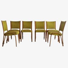 Dining Chairs by Hugues Steiner, Set of 6